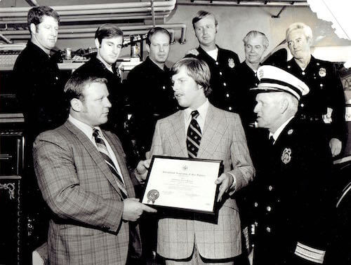 Duffy Jennings award from Int'l Association of Fire Fighters