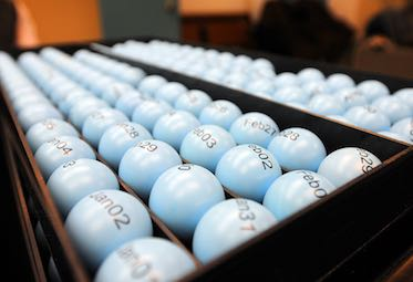 lottery balls for the selective service draft