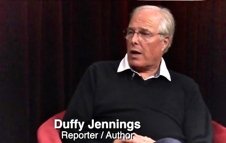 Duffy with Peter B. Collins